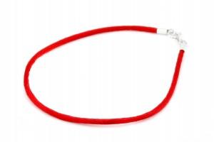 Красная нить (с серебряным замком)