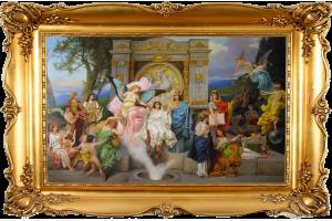 """Копия картины Генриха Семирадского """"Музы Парнаса"""""""