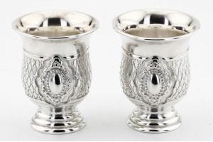 Серебряные стопки (набор 2 шт)