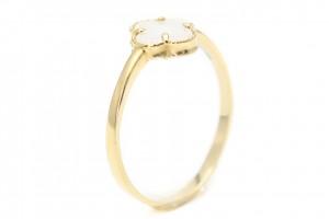 """Золотое кольцо """"Клевер"""""""