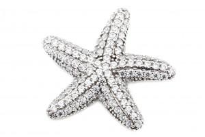 Золотая подвеска в форме морской звезды
